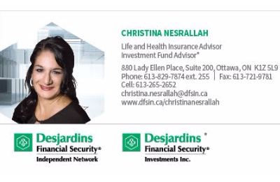 Christina Nesrallah - Desjardins Financial Security Independent Network