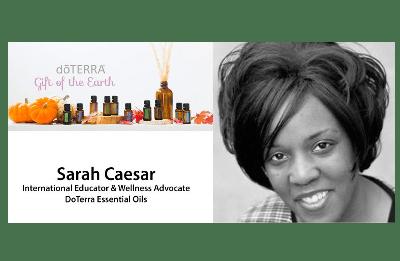 Sarah Caesar - doTerra and VoxxLife Wellness Educator