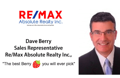 Dave Berry - Re/Max Absolute Realty Inc Sales Representative