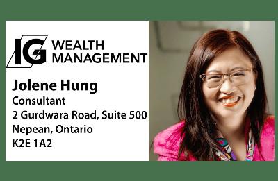 Jolene Hung - IG Wealth Management - Consultant