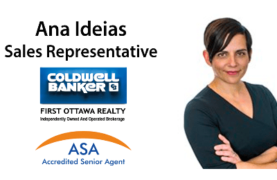 Ana Ideias Sales Representative Coldwell Banker First Ottawa Realty