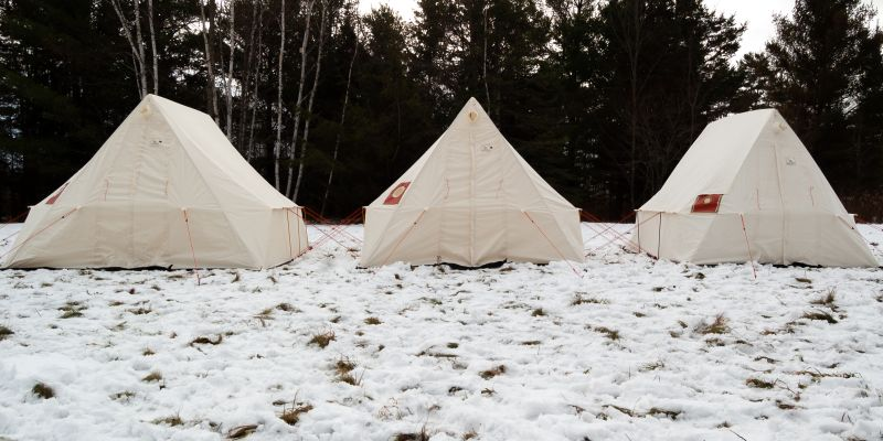Canvas Tents for Cold Weather Camping | Snowtrekker Canvas
