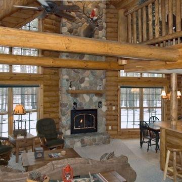 Four-Bedroom Log Cabin 1