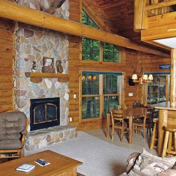 Four-Bedroom Log Cabin 2