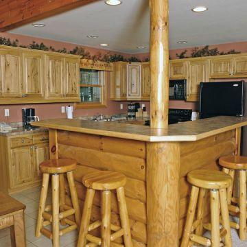 Four-Bedroom Log Cabin 6