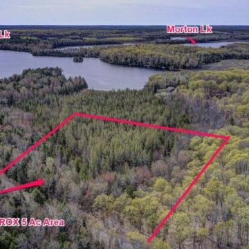 5 Acre Lot with Access to 3 Lake Chain in Presque Isle 2