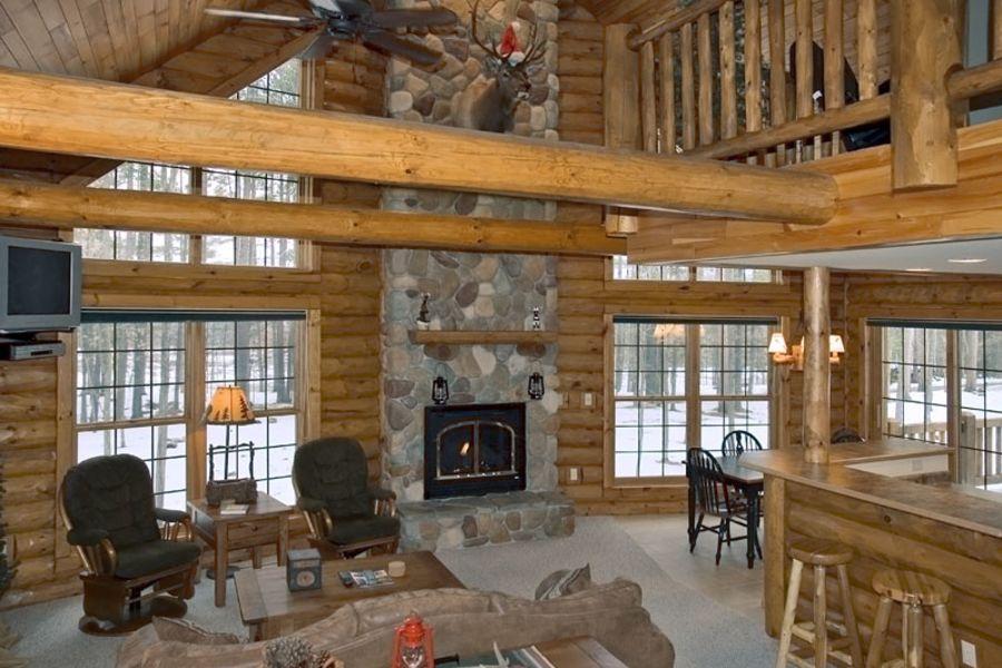 Four Bedroom Log Cabin The Beacons Of Minocqua