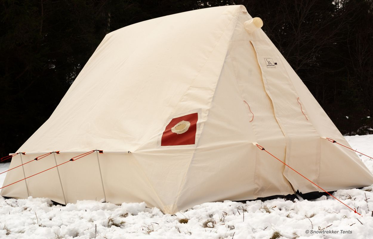 uk availability 4c08f 60f16 Canvas Tents for Winter Camping | Snowtrekker Canvas Tents ...