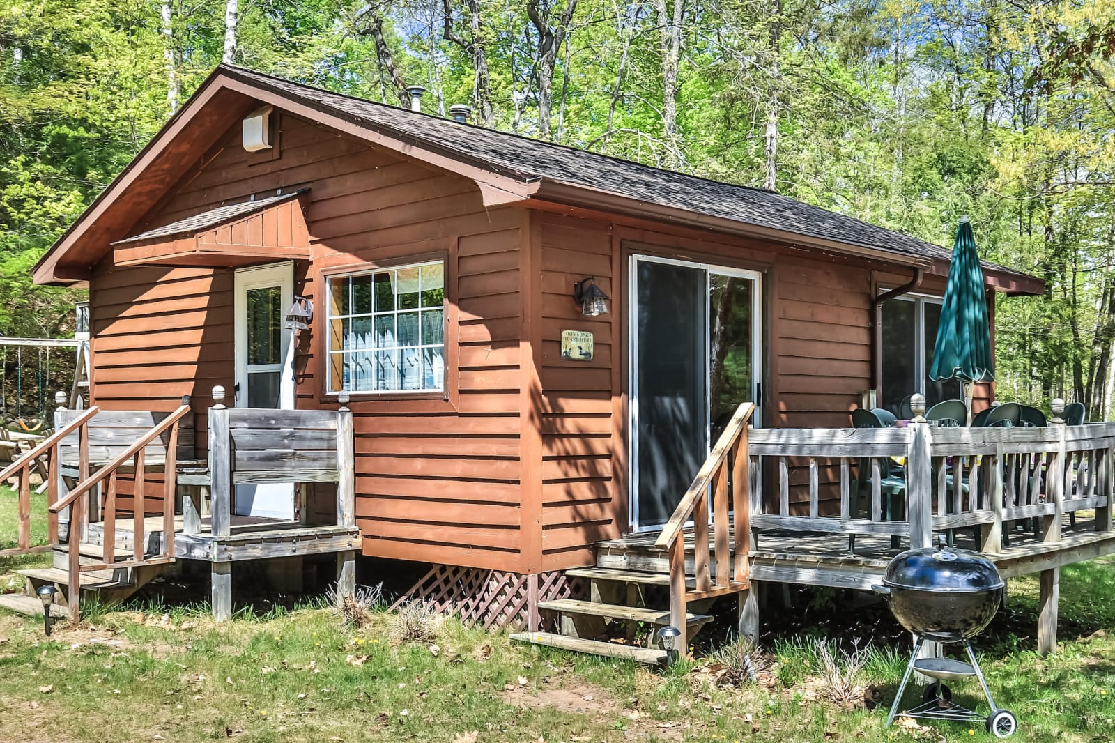 Two Bedroom Cabin For Vacation In Minocqua Booth Lake