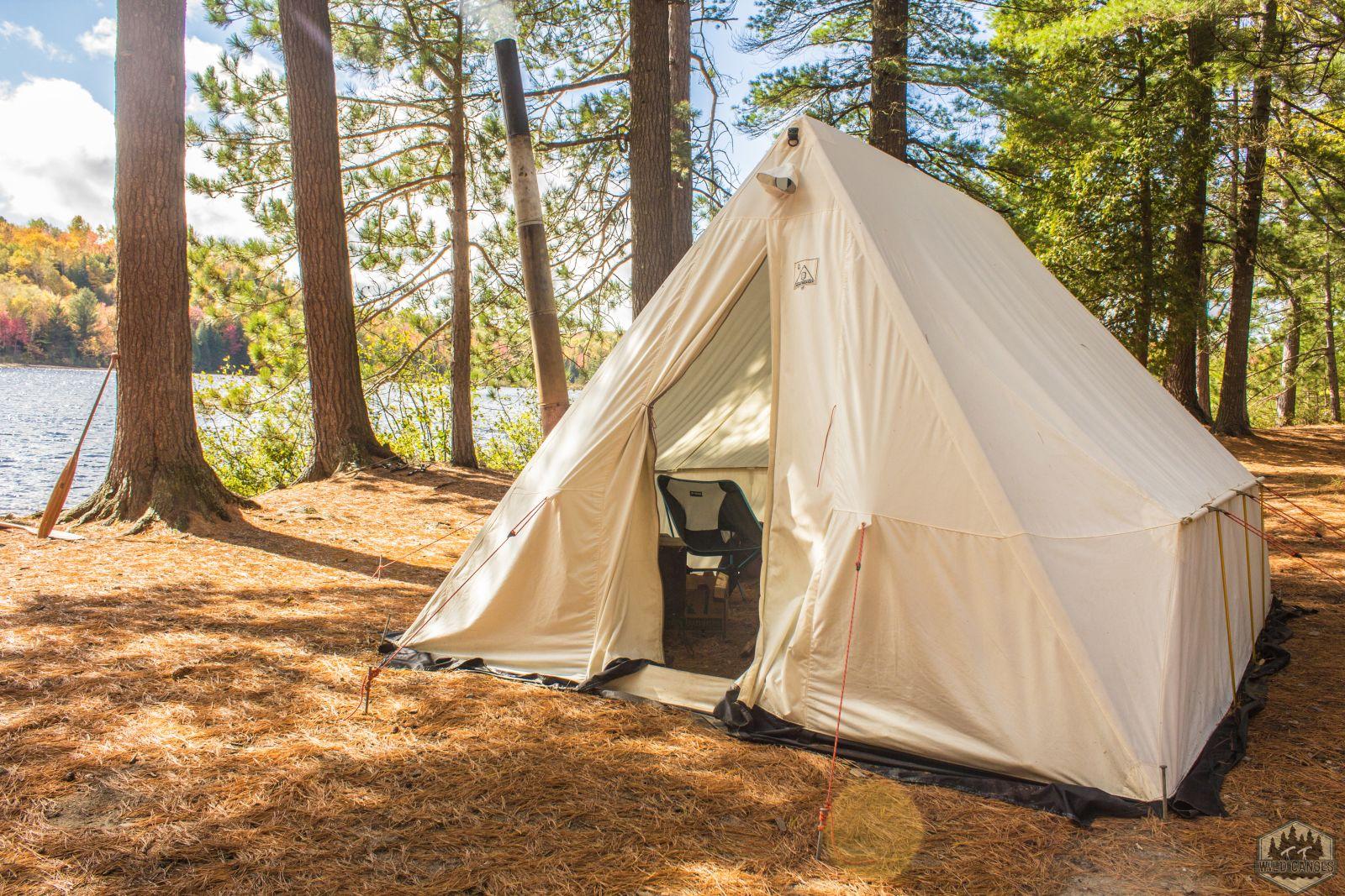 Basecamp Canvas Tents | Snowtrekker Canvas Tents | Live Winter