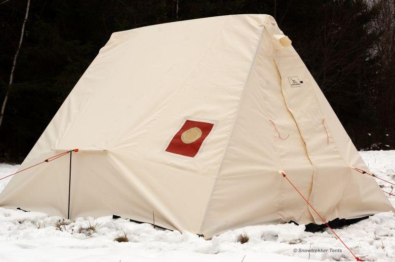 Crew Canvas Tent | Snowtrekker Canvas Tents | Live Winter