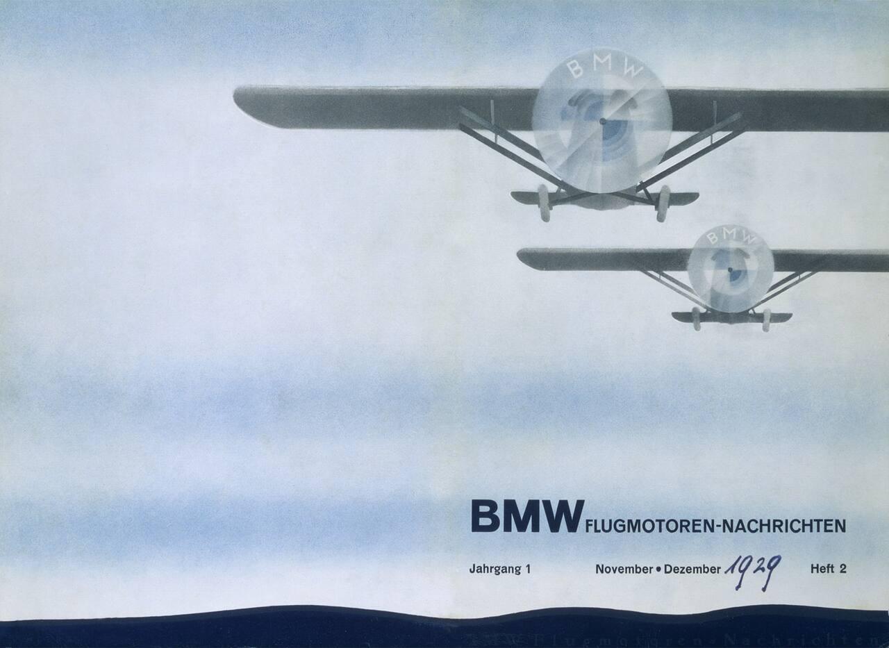 que significa el logo de bmw