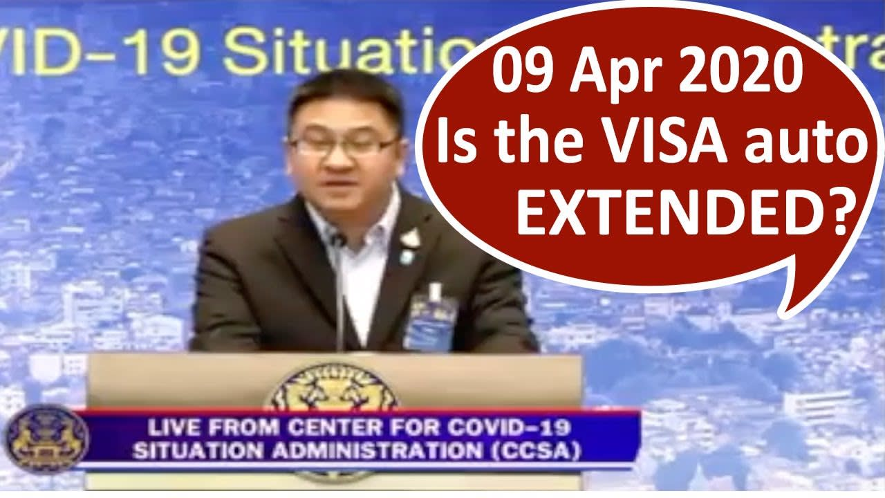 Thailand Visa Auto Extended for Foreign Tourists? Thailand Tourist Visa On Arrival for Indians 2020