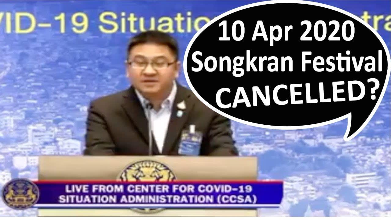Songkran Festival Thailand Cancelled | Songkran Thailand | Songkran Water Festival 2020 | Pattaya