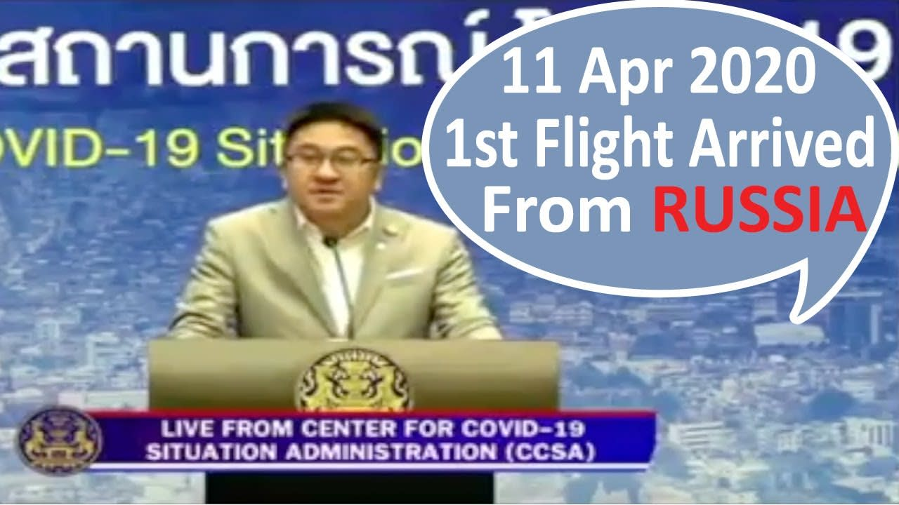 Russia to Thailand Flight Arrived | Coronavirus Patient Recovered News Thailand | Is Thailand Safe?