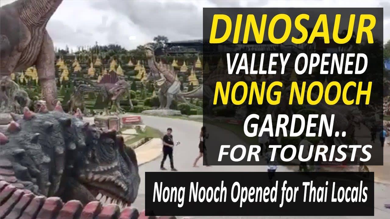 Nong Nooch Garden Village Show Pattaya | Dinosaur Valley | Opened for Thai Locals Domestic Tourists