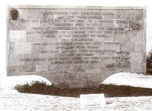Ataturk Memorial at Ari Burnu on the Gallipoli Peninsula
