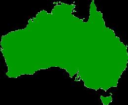 australian map