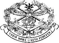 bronze memorial badge