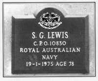 Crematorium niche plaque
