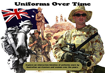 uniforms over time