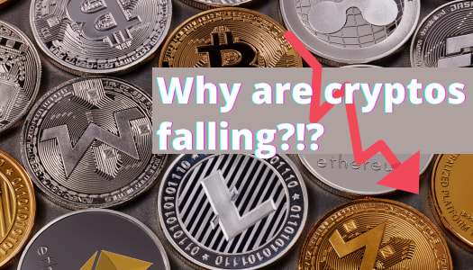 Why are cryptos falling?