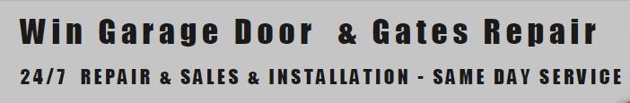 Win Garage Door & Gates Repair Phone Number