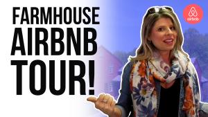 Image Reads: Farmhouse Airbnb Tour
