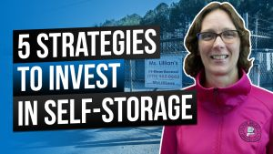 Image reads: 5 strategies to invest in self-storage units