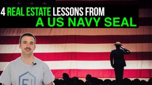 image text reads: 4 real estate lessons from a US Navy SEAL
