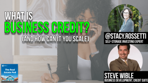 Real Estate Investors Build Business Credit hero image: stacy rosetti and guest youtube thumbnail image