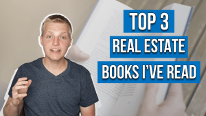 text on image reads: best real estate books i've read