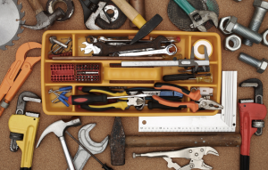 rentredi latchel integration image of toolbox and tools
