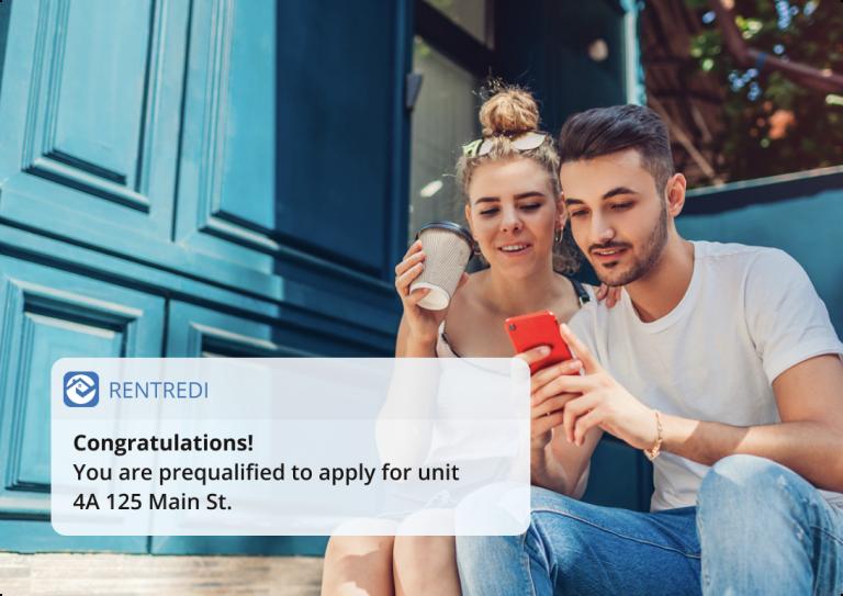 tenants prequalify with rentredi