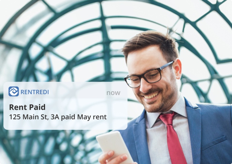 landlord gets paid with rentredi