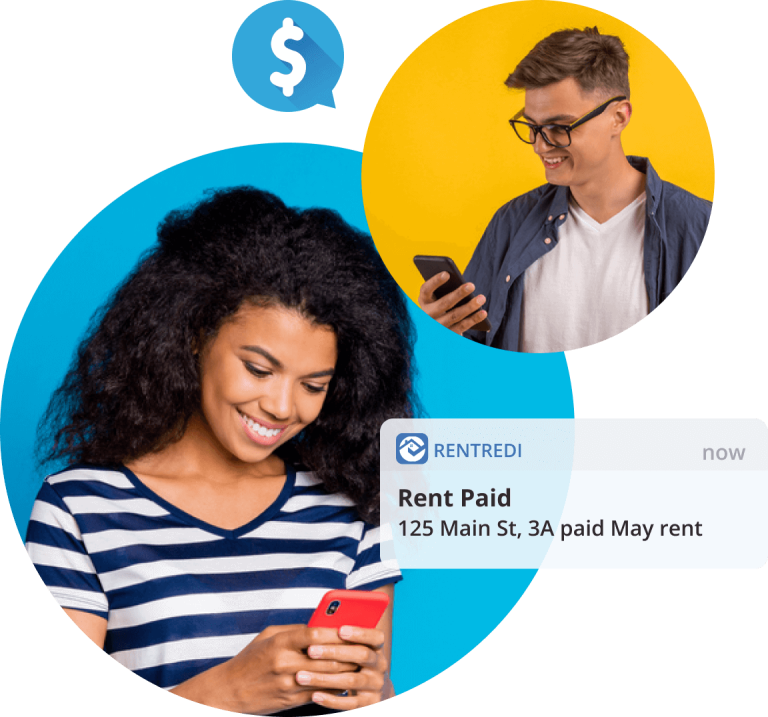 collect mobile rent payments with rentredi
