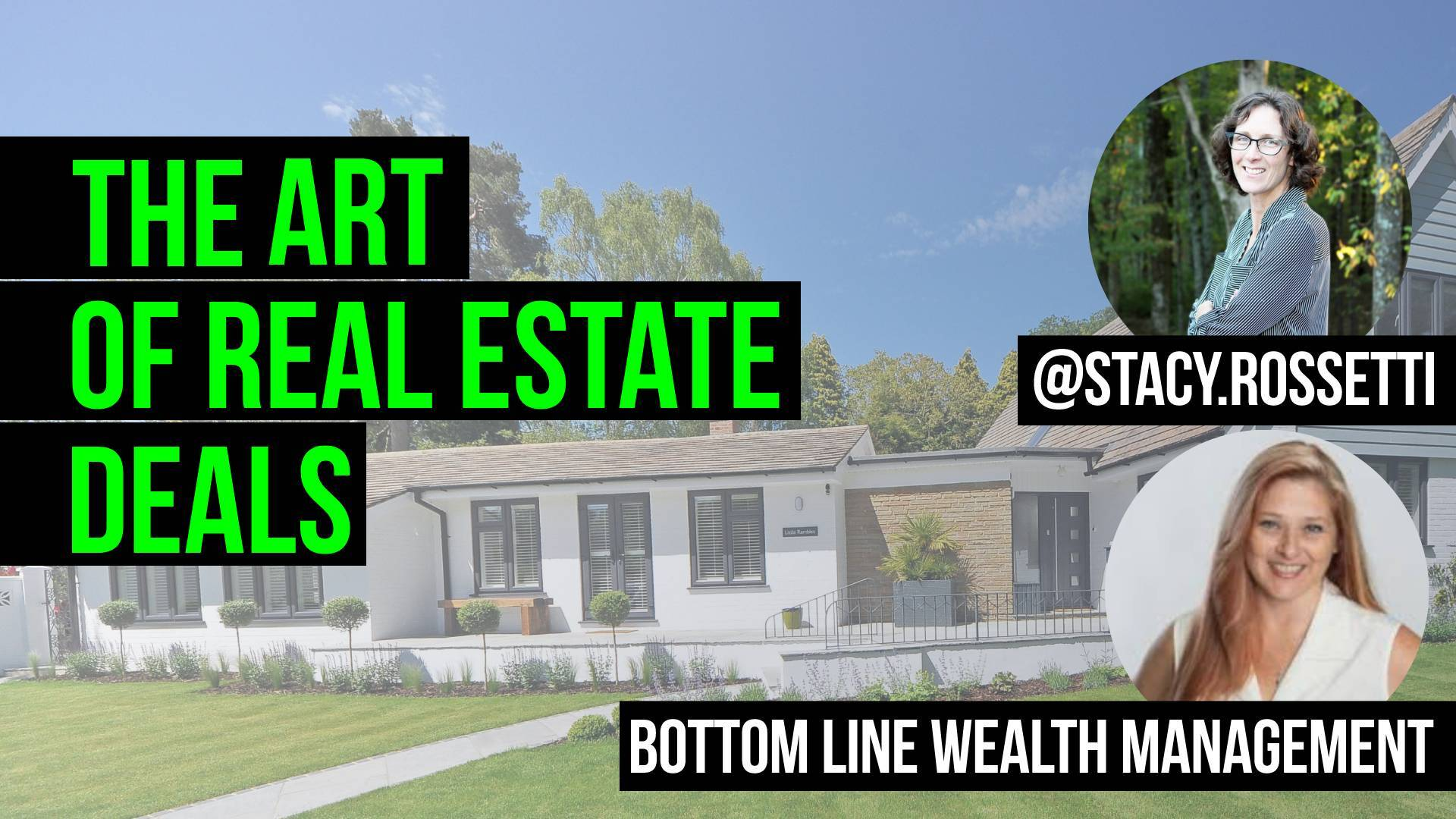 youtube thumbnail, text reads: the art of real estate deals