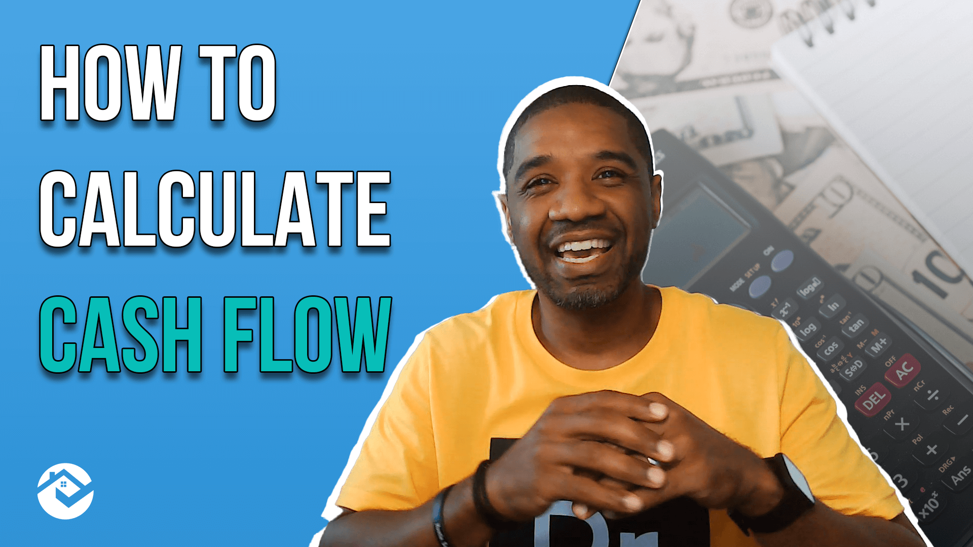 youtube thumbnail with headshot of marsay winder. text reads: easy formula to calculate cash flow
