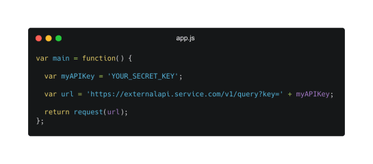 Javascript Hardcoded Secrets