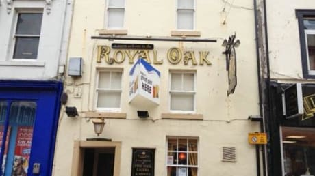 Royal Oak 3 King Street Whitehaven Cumbria CA28 7LA