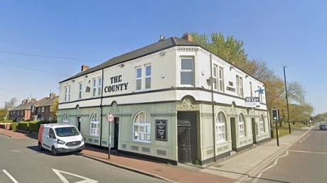County Hotel Walker Road Newcastle Upon Tyne Tyne & Wear NE6 3LB
