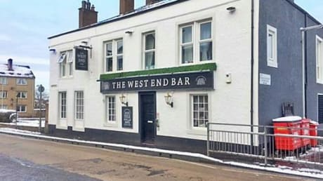 West End Bar 11 Main Street Lochgelly  KY5 9AG