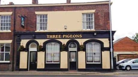 Three Pigeons 35 Tanners Lane Warrington Cheshire WA2 7NL
