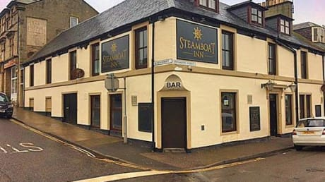 Steamboat Hotel 15-17 Pitgaveney Street Lossiemouth Inverness IV31 6NT