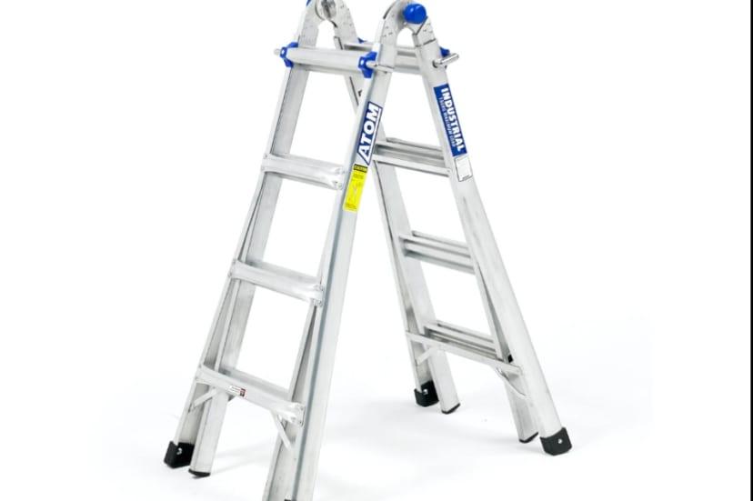 Multi position adjustable ladder