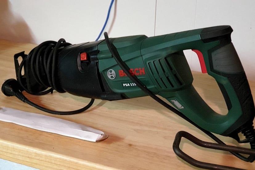 Bosche reciprocating saw