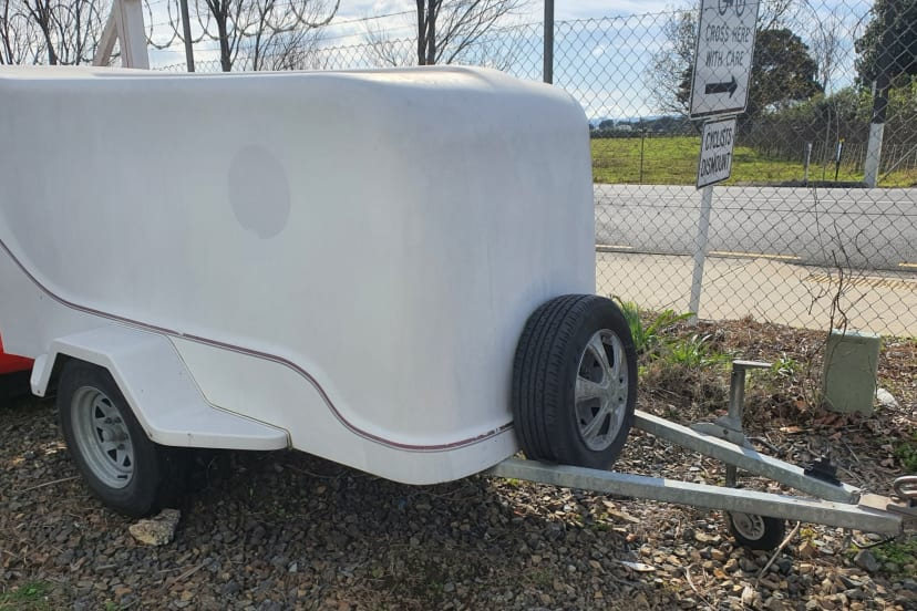 luggage box trailer
