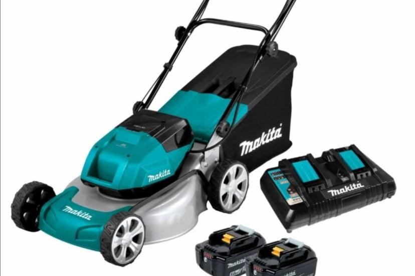 Makita Battery operated Lawn Mower