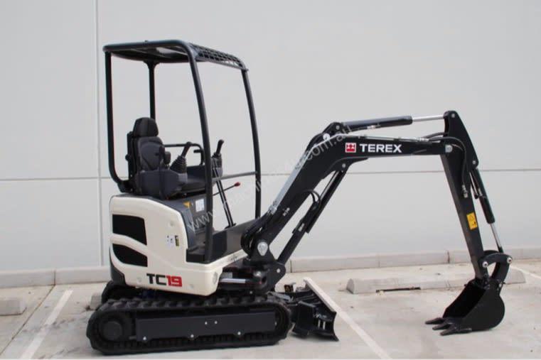 1.9 or 1.4 Tonne Terex