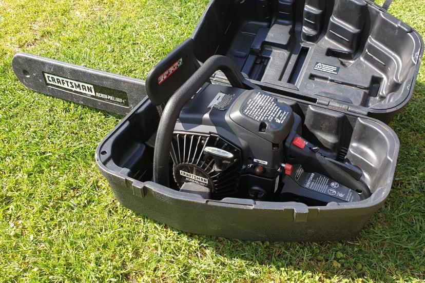 "Craftsman 55cc 18"" chainsaw"